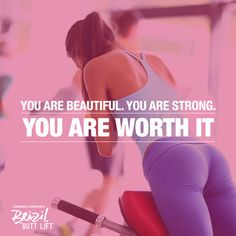 You are SO worth it! Always make time for you. http://www.onesteptoweightloss.com/brazil-butt-lift-before-and-after
