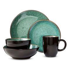 I really like these dishes! Would make a nice splash! #LGLimitlessDesign #Contest  sc 1 st  Pinterest & Threshold™ 16 Piece Cambridge Dinnerware Set - Green $69   Giflist ...