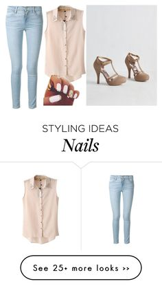 """""""Untitled #884"""" by mikaelaryan on Polyvore featuring Chicnova Fashion and Frame Denim"""