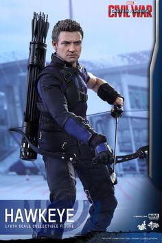 Captain America: Civil War Hot Toys (Hawkeye)