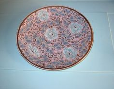 Oriental decorative porcelain plate $75.00