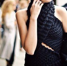 Knitwear love.