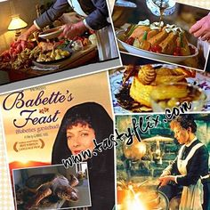 In keeping with the holiday festivities aka feasting…my Friday Nite Food Film . Babette's Feast, Lazy Sunday Afternoon, Food Film, Film Releases, Holiday Festival, Friday Holiday, Dinner Recipes, Tasty, Caviar