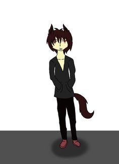 Wolf guy by Nika0625.deviantart.com on @DeviantArt