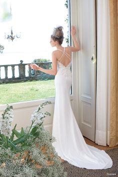 jillian sposa wedding dress 2014 sheath gown double straps 95807