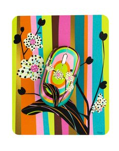 Pylones Orchid Mouse   Mouse Pad Pylones Orchid mouse and a mouse pad just  made for each other! Sure they are unattached (wireless). 83af71a3bd79