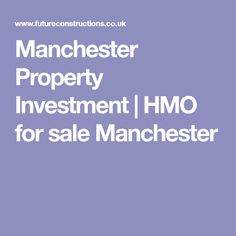 Manchester based developers sourcing and delivering HMO properties for private investors worldwide. Maximise your returns in the property market with us today. Investment Property, Manchester, Investing, Sofa, Rooms, Trendy Bedroom, Bedroom Ideas, Attic Ideas, Bedrooms