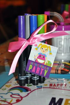"Photo 1 of 56: Arts & Crafts / Birthday ""Meryn's Create + Celebrate Art Party"" 