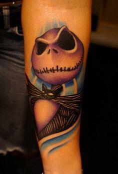 nightmare before christmas tattoos | 15 Fantastical 'Nightmare Before Christmas' Tattoos