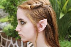 Tauriel Latex ears The Hobbit /The Lord of by MadhouseFXstudio Link Cosplay, Elf Ears, Wood Elf, Tauriel, Larp, Perfect Match, The Hobbit, Trending Outfits, Beauty
