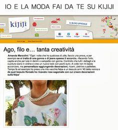 kijiji.it blog, opinioni su vintage, second hand, moda fai da te, fashion blogger stilista, felpe customizzate, amanda marzolini, the fashio...