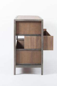 Buy online Vaneau   chest of drawers By alex de rouvray, wooden chest of drawers design Alex de Rouvray, vaneau Collection