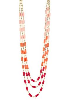 Bohemienne Ombre Beaded Necklace