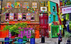 Neal's Yard, la colorata piazza segreta di Londra