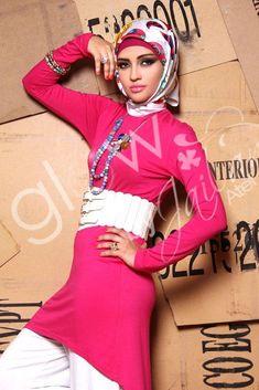 jailat atef hijab   Jailan Atef hijab see collection http://www.justtrendygirls.com/jailat-atef-hijab-collection/