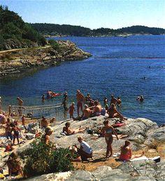 Roligheten beach, Kristiansand Norway