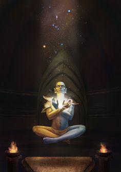 Lord Vivec by Nafrin.deviantart.com on @DeviantArt