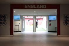 Wembley Recce: Tunnel Wembley Stadium, England, English, British, United Kingdom