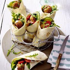 Falafel-Wrap Rezept | LECKER