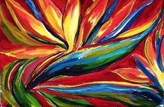 Bird of Paradise NOW IN OUR RECORDED LESSON LIBRARY www.gingercooklive.gallery
