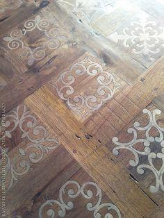 MINARDI Designed by Carlo Apollo Stone Flooring, Wooden Flooring, Hardwood Floors, Floor Design, House Design, Metal Facade, Doors And Floors, French Pattern, Barn Wood Projects