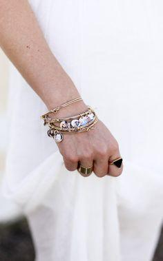 Beautiful photo charm bracelet!