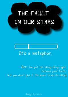 The fault in our stars movie poster minimal version