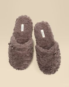 Soma Intimates Embraceable Luxe Plush Scuff Slipper Mochaccino #somaintimates My Soma Wish List Sweeps