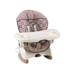 Fisher Price SpaceSaver High Chair - Geo Circles