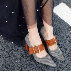 Chiko Anneka Square Toe Mary Jane Pumps