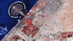 Vista aérea de Dubai - NASA