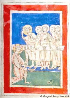 Psalter, MS M.645 fol. 4v - Images from Medieval and Renaissance Manuscripts - The Morgan Library & Museum