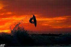Sunset Air - I can sure go for some warm surf this cold holiday season.  www.chrisburkard.com