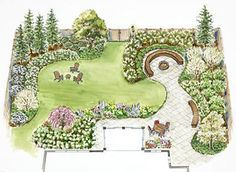 Landscaping Irregularly Shaped Yard: Linking Front And Side | Gardening,  Gardens U0026 Water Features | Pinterest | Landscaping, Yards And Gardens