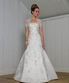 wedding dresses a line wedding dresses 2013 wedding dresses laces vintage a-line/princess strapless chapel train satin wedding dress for brides 2014 style