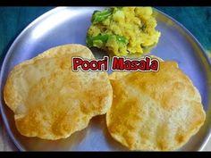 Poori recipe - How to make Soft & Puffy Poori (Puri) - By Tasty Appetite