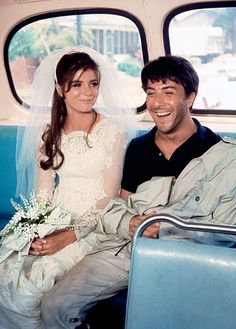 The Graduate - Ben and Elaine - Dustin Hoffman and Katherine Ross