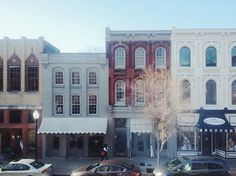 """Historic Downtown Franklin, Tennessee 