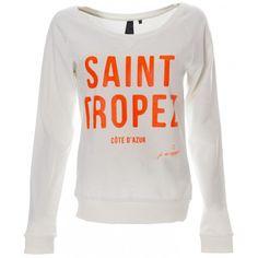 Sweater Saint Tropez - White