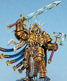 #Stormcast_Eternal #NMM #Gold #Steel #Runes