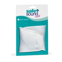 Safe & Sound Health Back Supports are made from strong yet flexible material that allows the user to remain flexible whilst providing support to the back areas at the same time. Washable and long-lasting. Size: Small (29-32 inch).