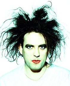 THE CURE Robert Smith. It's the hair. ♡