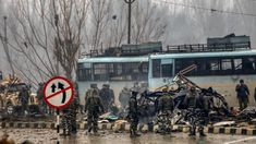 pulwama terrorist attack first anniversary: On February a Jaish-e-Mohammed terrorist rammed explosive-filled vehicle on a bus ferrying CRPF jawans. The bus was part of the CRPF convoy. CRPF is going to inaugurate a memorial as tribute to martyrs Fake Pictures, Srinagar, Wipe Out, Army Soldier, A Team, Pakistan, Police