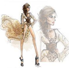 Fashion barometer @divinemlee #fashionillustration Facebook.com/Elisketches