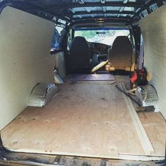 THINK BLUE: getting there. one day at a time. i'm very satisfied seeing my results those that from my hardwork. #solarpanel #insulation #plywood #camping #van #campervan #ford #diy #proud #travel #trip #conversionvan #stepbystep #echopark #vanlife #vanstyle #life #trip #rolling #rollinghome #reflectix #handy #handyman #doityourself #panelling #stealth by vanzingerz