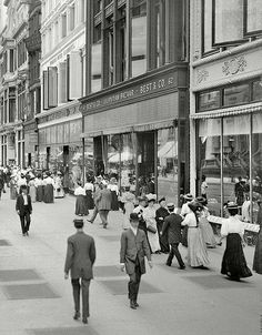 New York, imagine din 1905.
