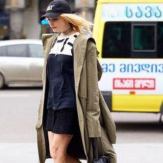 Hannah •  Photo by #Dvora #Fashionistable •  www.dvora.photography  #HannahOngley @hannahongley #MBFWTbilisi #FashionWeek #StreetStyle #Fashion #Mode #Moda #Style #StreetChic #StreetFashion #MBFW #NoFilter #Tbilisi #MBFashionWeekTbilisi