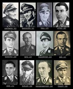 "Aces of the WWII For Country Erich Hartmann: 352 wins (Germany) Hiroyoshi Nishizawa: 103 (Japan) Ivan Kozhedub (or Kojedoub): 62 wins (USSR) Richard I. Bond: 40 wins (USA) James ""Johnnie"" Johnson 38.0..."