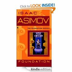 "the first book in my favorite science fiction series - ""Foundation"" by Asimov. one man has probabilistically mapped out the future and set humanity on the best known path to shorten the imminent dark ages. Foundation Series, Science Fiction Books, Sci Fi Books, Any Book, I Love Books, Novels, Empire, Recommended Reading"