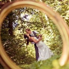 new must have photo- pic through your wedding ring!